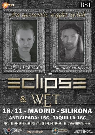 ECLIPSE ACOUSTIC 2016 MADRID INTERNET