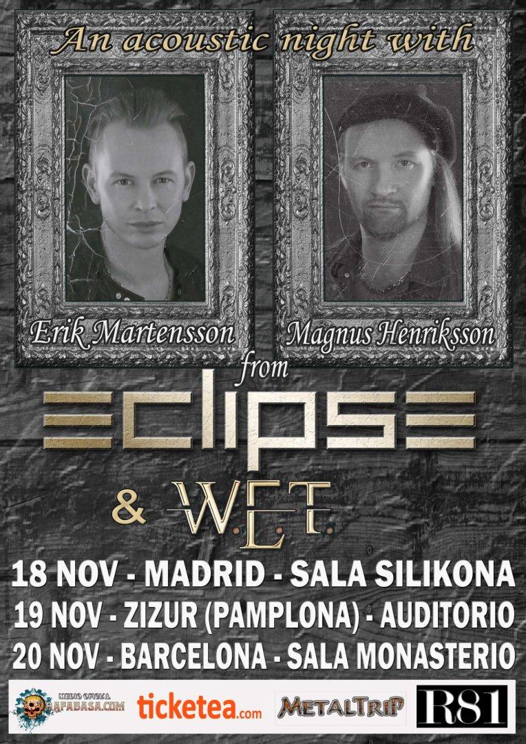 ECLIPSE ACOUSTIC 2016 TOUR INTERNET