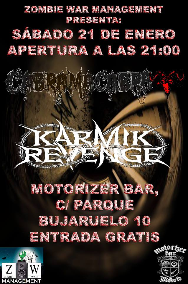 karmik-revenge-cabra-macabra-21-enero-mtorizer