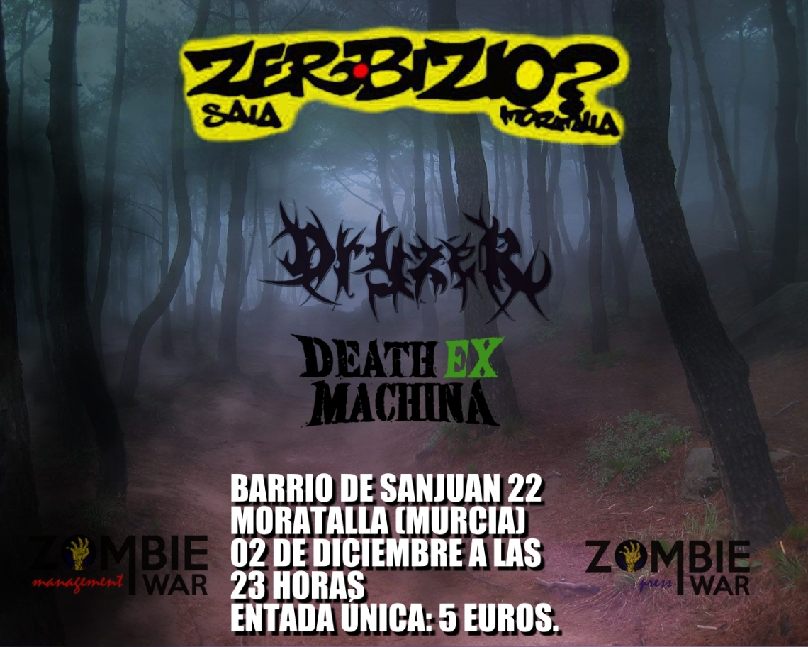 Dryzer cartel Zerbizio 2 diciembre