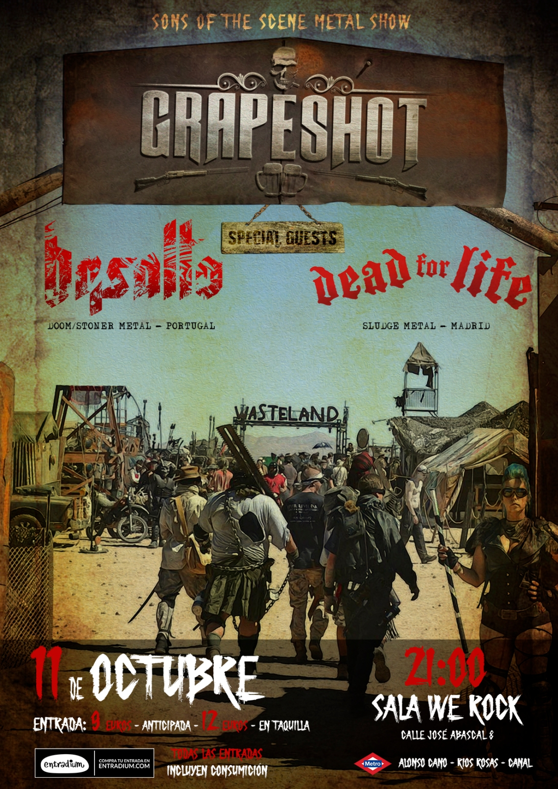 GRAPESHOT - BASALTO - DEAD4LIFE